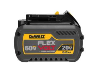 BATERIA LIT-ION 20V@6.0AH / 60V@2.0AH DEWALT, RB TOOLS & EQUIPMENT Puerto Rico