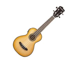 LU'AU CONCERT UKULELE NATURAL SHADOW E Sitka , STEVAN MICHEO MUSIC Puerto Rico