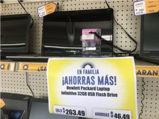 BUNDLE HP LAPTOP + 32GB USB FLASH DRIVE, La Familia Casa de Empeño y Joyería-Caguas T2 Puerto Rico