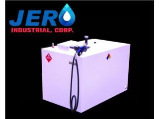 Cataño Puerto Rico Sistemas de Seguridad - Industrial, Tanque 1000 Gal Pared Sencilla o Doble Pared