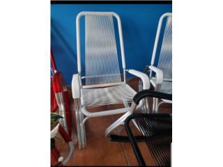 Mesedoras Sillas en aluminio, Ornamentación Quintana Puerto Rico
