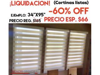 Duo Shades Daylight Linen (liquidación) -60%, READY SHADES Puerto Rico
