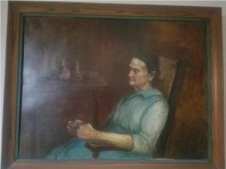 Epifanio Irizarry, Mujer Orando, Venta Privada de Arte Puerto Rico