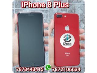 IPHONE 8 PLUS NEGRO DE AT&T R-SIM UNLCKED, iZone Technology San Juan Puerto Rico