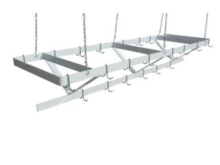 Ceiling Mounted Pot Rack, Master Chef Puerto Rico