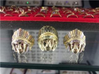 Bellas Sortijas en oro de indio , PALACIO DE ORO Puerto Rico