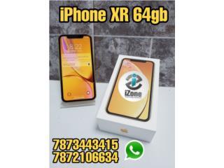 IPHONE XR AMARILLO - R-SIM UNLOCKED, iZone Technology San Juan Puerto Rico