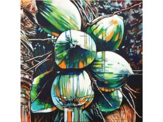 Variedad de Cocos by F.Mora, PR ART COLLECTION Puerto Rico