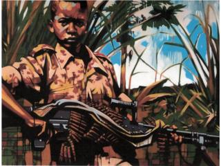 ¨Somali Infantry One¨, PR ART COLLECTION Puerto Rico