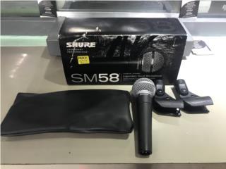 Micrófono sure sm58, PALACIO DE ORO Puerto Rico