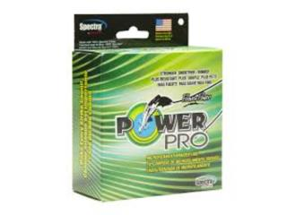 Power Pro 80lbs 500yds Green, The Tackle Box inc.   Puerto Rico