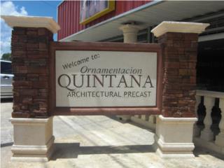 Rotulos, Ornamentación Quintana Puerto Rico