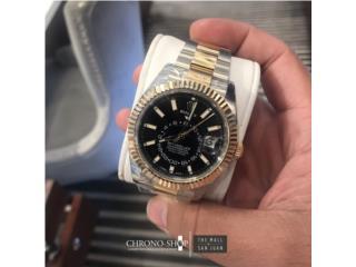 Rolex SkyDweller 2 Tones Black, CHRONO - SHOP Puerto Rico