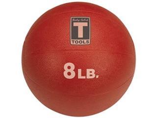 Medicine Ball - 8lb Red Body Solid BSTMB8, Healthy Body Corp. Puerto Rico