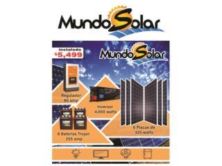 San Juan-Hato Rey Puerto Rico Enseres Estufas, sistema solar instalado $5,500