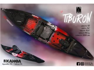 Llegó el NUEVO KANOA Tiburón kayak , KANOA kayaks Puerto Rico