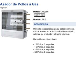 Asador de Pollos , JL Trailers Equipment Puerto Rico
