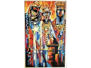 """""""Los Reyes de mi Patria"""", PR ART COLLECTION Puerto Rico"""