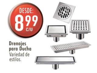 Drenajes para ducha , Ferreteria Ace Berrios Puerto Rico