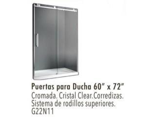 San Juan Puerto Rico Muebles Sala, ESPECIAL BLACK Puertas para ducha ESPECIAL