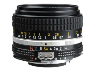 Lente Nikon Nikkor 50mm f/1.4 Como Nuevo, Cashex Puerto Rico