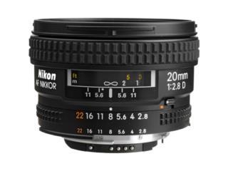 Lente Nikon Nikkor 20mm f/2.8D, Cashex Puerto Rico