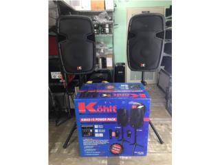 """equipo de sonido kohlt 15"""" nuevo de paquete , PALACIO DE ORO Puerto Rico"""
