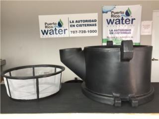 Canasta para recoger agua de lluvia, Puerto Rico Water Puerto Rico