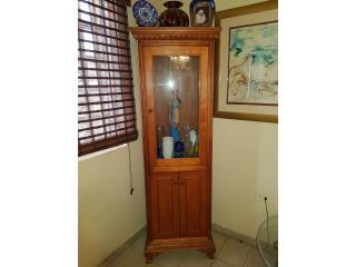 Curio madera solida. , ECONO/CRISIS SOLUTIONS Puerto Rico