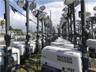 Torres de Luz Wacker Neuson (Renta o Venta), González Trading Puerto Rico