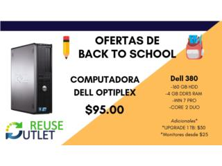 DELL OPTIPLEX 380 , Reuse Outlet Store Puerto Rico