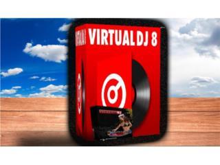 VIRTUAL DJ 8 ((( PARA MIXEAR MUSICA ))), MK COMPUTER Puerto Rico