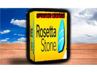 ROSETTA STONE ((( APRENDE IDIOMAS ))), MK COMPUTER Puerto Rico