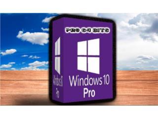 WINDOWS 10 64 BITS ((( SISTEMA OPERATIVO ))), MK COMPUTER Puerto Rico