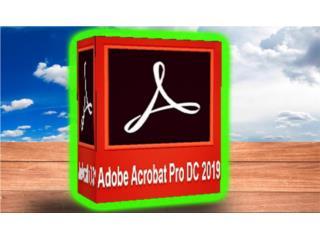 ADOBE ACROBAT DC ((( EDITA LOS PDF ))), MK COMPUTER Puerto Rico