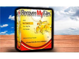 RECOVERY MY FILES (( RECUPERA DATA BORRADA )), MK COMPUTER Puerto Rico