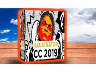 ILLUSTRATOR CC 2019 ((( DIBUJA VECTORES ))), MK COMPUTER Puerto Rico