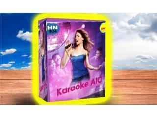 KARAOKE ((( PROGRAMAS Y 40,000 KARAOKES ))), MK COMPUTER Puerto Rico