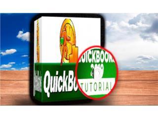 QUICKBOOK 2018 ((( MANUALES Y VIDEOS ))), MK COMPUTER Puerto Rico