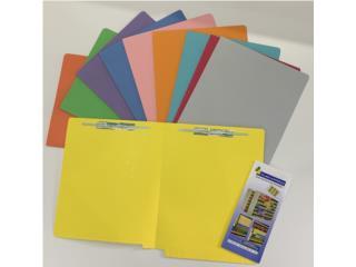 Variedad Folder Manila a Color , ModuFit, Inc. Puerto Rico