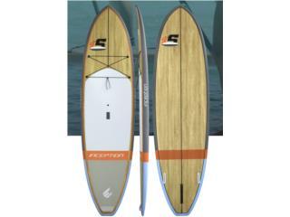 ECS Inception Wood 10.6, remo, leash y board , The SUP shack  Puerto Rico