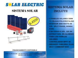 San Juan-Viejo SJ Puerto Rico Arte, Sistema Solar $4500 Instalado