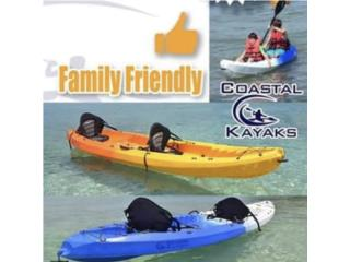 Coastal kayaks tandem asientos y remos., The SUP shack  Puerto Rico