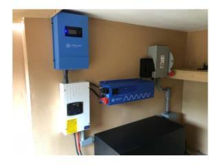 Kit Solar OFF-GRID 6,000w, PowerComm, Inc 7873900191 Puerto Rico