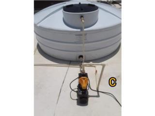 Cisternas con Motor Control Pump , Sun and Water World Puerto Rico