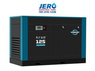 San Juan Puerto Rico Sistemas Seguridad - Defensa personal, Compresor de Tornillo KAISHAN - KRSP 20-500HP