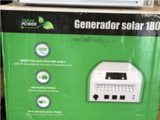 Generador Solar, La Familia Casa de Empeño y Joyería-San Juan Puerto Rico