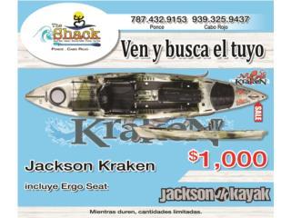 Jackson Kraken 13.5, The SUP shack  Puerto Rico