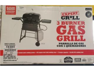 Expert 3 Burner Gas Grill Nuevo, La Familia Casa de Empeño y Joyería-Carolina 1 Puerto Rico