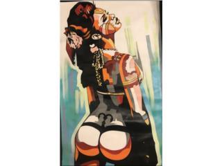 """PR Queen"", PR ART COLLECTION Puerto Rico"